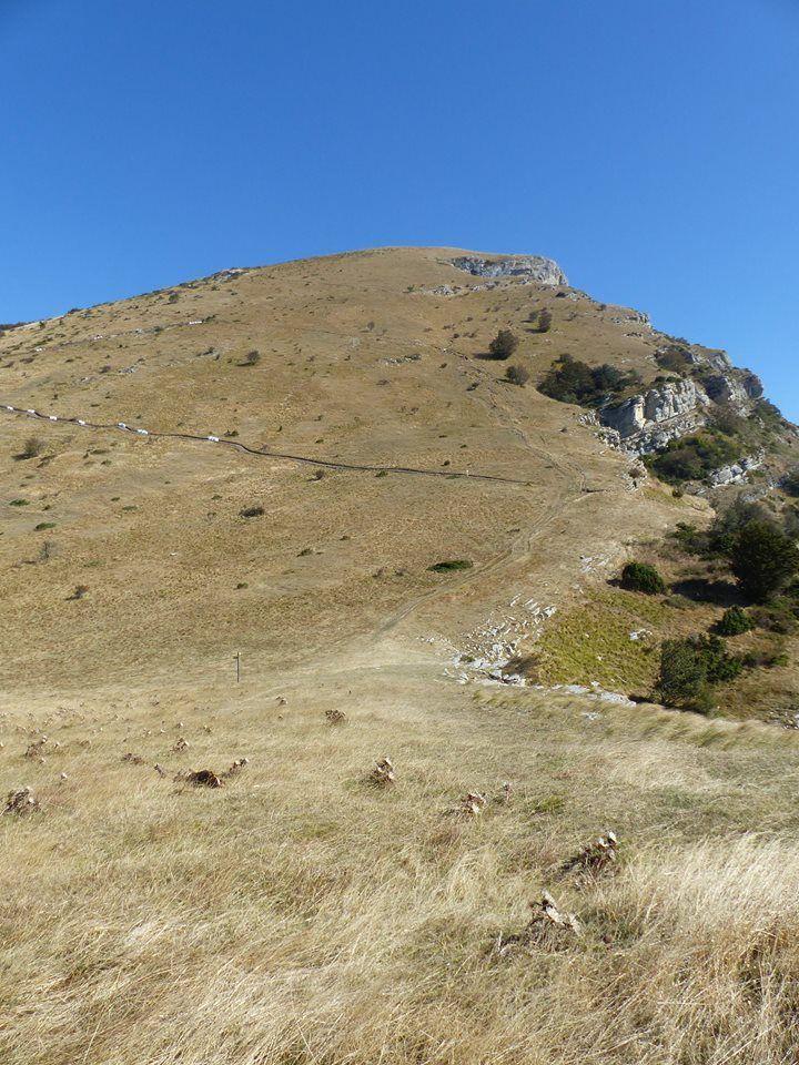 le sentier qui mène au Veyou est en train d'être totalement réaménagé, moins pentus et plus pratique