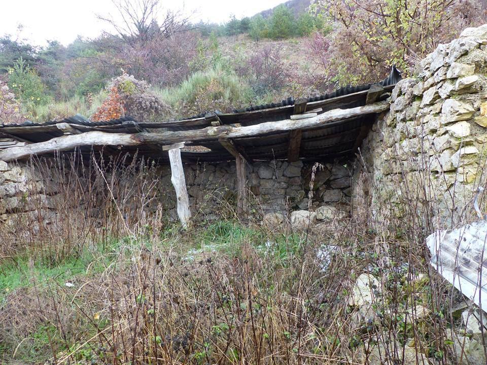 ruine d'une bergerie