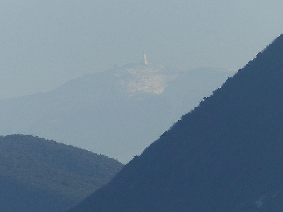 vue sur le Géant de Provence