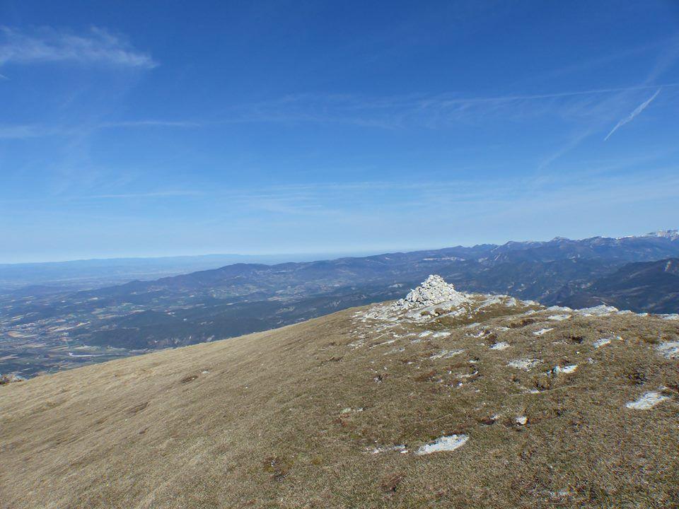 au sommet de Roche Courbe (1545m)