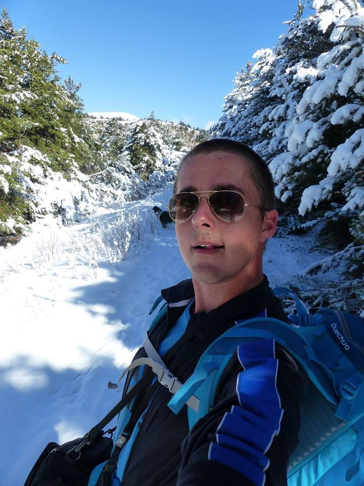 grimpeur du 26 retourne en hiver