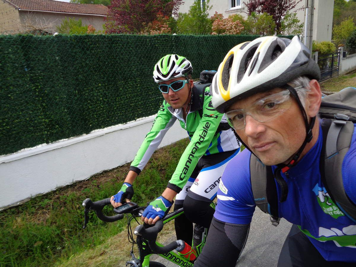 selfie en roulant (photo Eric)