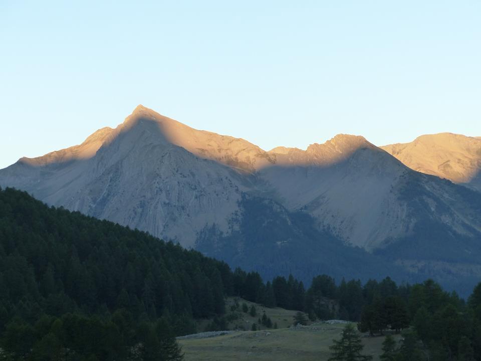 splendide lever de soleil depuis Fouillouse (7h du matin