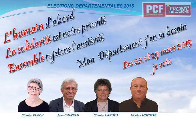 Nos candidats sur la Presqu'île