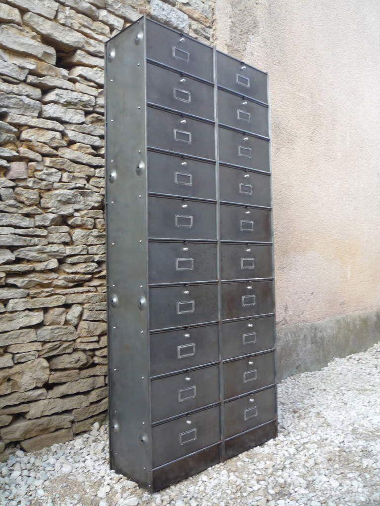 CLASSEUR 20 CLAPETS RONEO PATINE CLASSIQUE 1950