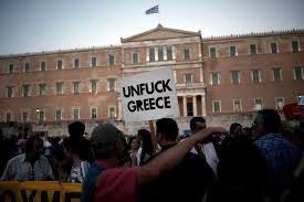 Face à l'Union européenne et au FMI, les Grecs dans la rue pour défendre leur souveraineté et leur dignité