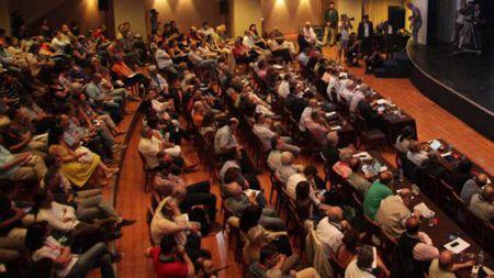 Le Comité central de SYRIZA réuni  le 30 juillet 2015