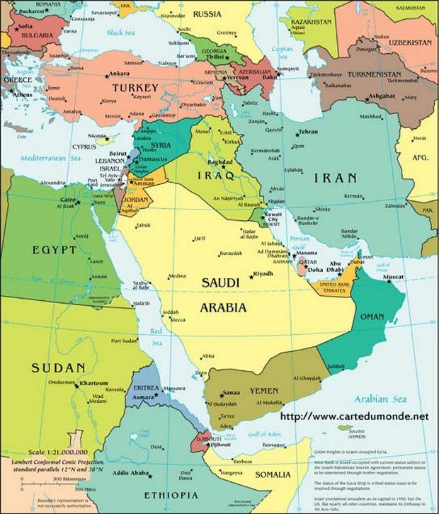 Carte Qatar Arabie Saoudite.L Arabie Saoudite Et Le Qatar Role Reel Ou Role Fictif