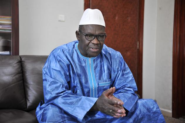 Le ministre des Domaines de l'Etat et des Affaires foncières, Mohamed Aly Bathily