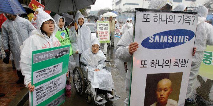 Samsung accusé d'avoir empoisonné plus de 200 travailleurs