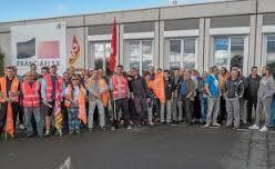© G. Le Morvan Une majorité de salariés de Franciaflex est en grève, sur le site de Guipry-Messac