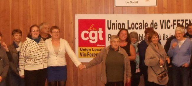 Gers : création d'une nouvelle Union locale CGT &quot&#x3B;Pour rassembler là où ils individualisent, pour unir là où ils divisent !&quot&#x3B;