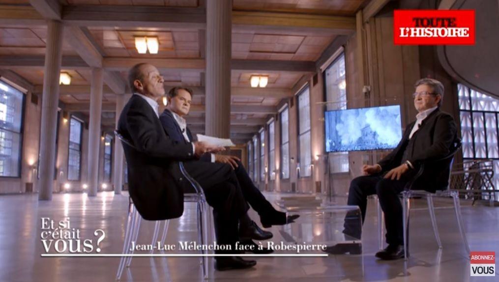 Jean-Luc Mélenchon face à Robespierre [vidéo]