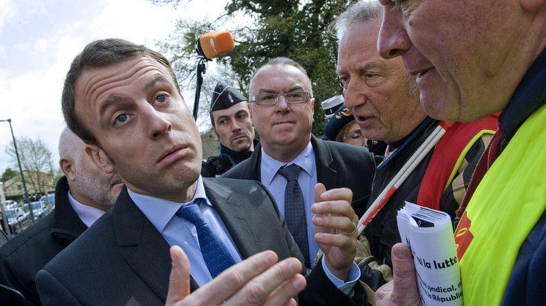 Emmanuel Macron avait «rencontré» la CGT pendant la mobilisation contre la loi Travail
