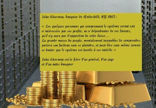 163 ans avant Macron, un banquier de la Banque Rothschild  s'exprimait en termes de classes...