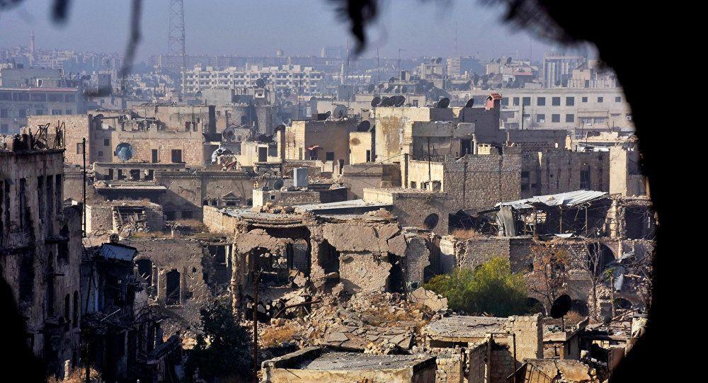 Alep-Est : les terroristes utilisaient écoles et hôpitaux comme dépôts d'armes