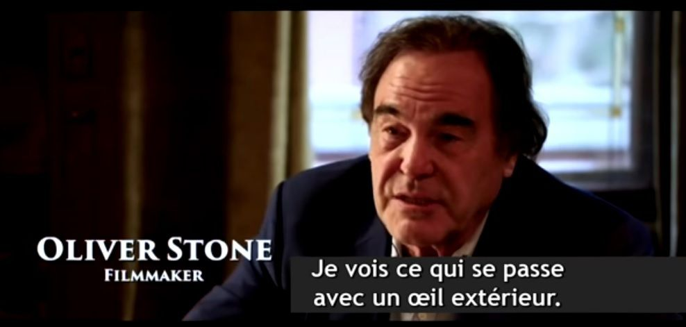 La bande annonce du film d'Oliver Stone « UKRAINE ON FIRE »