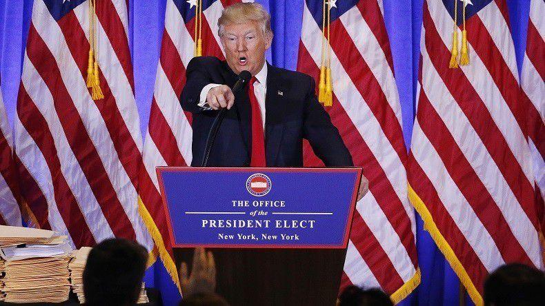 Quand France Télévision ne peut cacher l'aversion de la bourgeoisie française, du pouvoir PS en premier,  vis-à-vis de Donald Trump...Pourquoi ?  par Jean LEVY