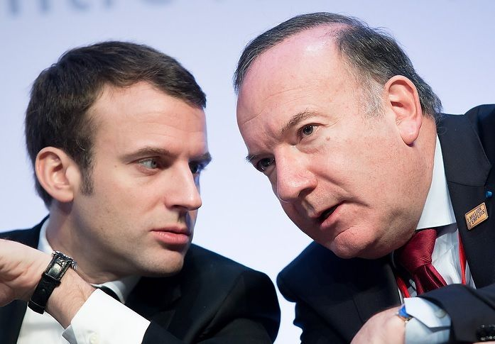Le Président du MEDEF, Pierre GATTAZ « enthousiasmé » par Emmanuel MACRON ...