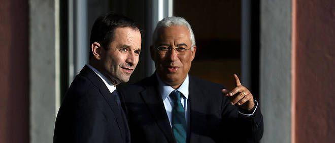 Au Portugal, Benoît Hamon, qui  &quot&#x3B;rêve d'union de la gauche&quot&#x3B;, n'a rencontré ni le principal syndicat, la CGTP, ni le Parti Communiste Portugais...