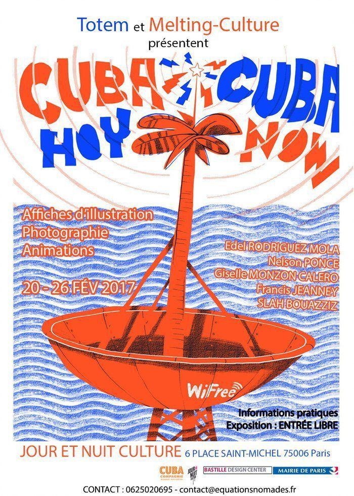 Expos &quot&#x3B;Cuba Hoy&quot&#x3B; à Paris,  Place Saint Michel