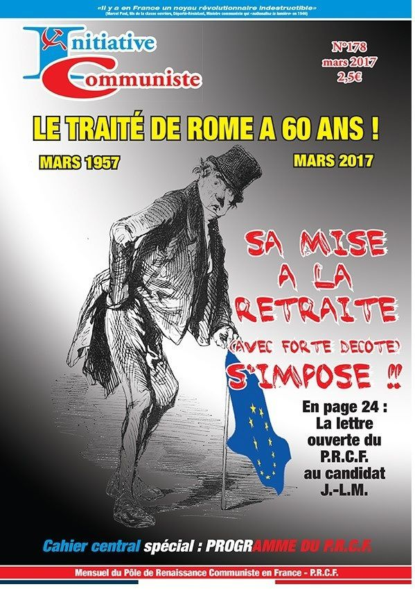« INITIATIVE COMMUNISTE » de mars 2017 est paru
