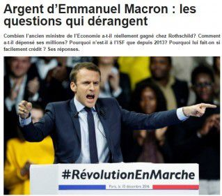 MACRON : LEVÉE DE FONDS DANS LA BANLIEUE BRUXELLOISE DES EXILÉS FISCAUX