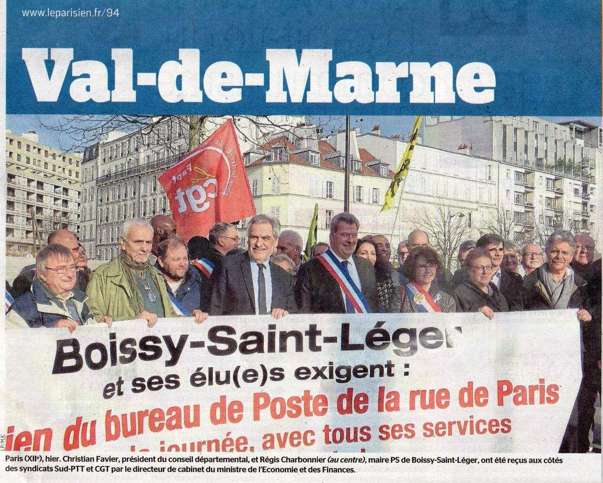VAL DE MARNE : Habitants, syndicats et élus se mobilisent pour DÉFENDRE les bureaux de POSTE