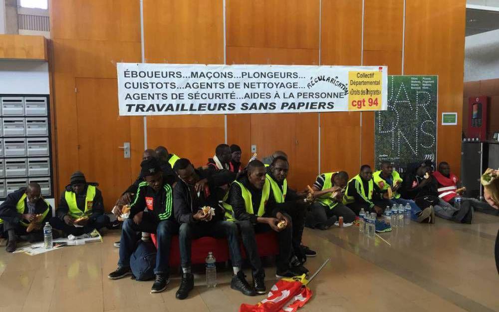 CGT : La belle victoire des travailleurs sans papiers à Rungis !