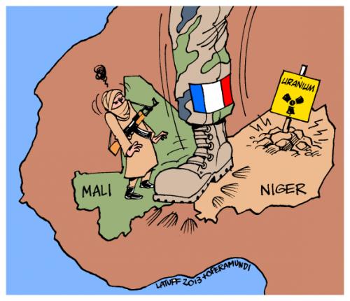 Le Sahel, nouvelle cible économique de la France : Macron veut faire la guerre au Mali pour assurer l'approvisionnement français en uranium sous-payé