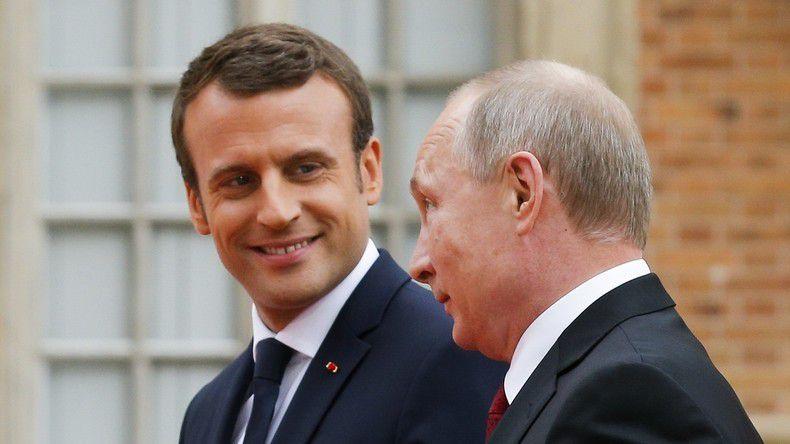 Poutine, Macron et Jean de la Fontaine,    par J. Laughland