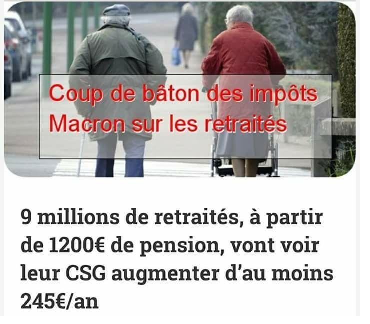 Retraités ! Le lendemain des législatives, il sera trop tard pour vous plaindre de Macron et de sa &quot&#x3B;République En Marche&quot&#x3B; : aujourd'hui, vous savez que leur objectif et de baisser vos pensions