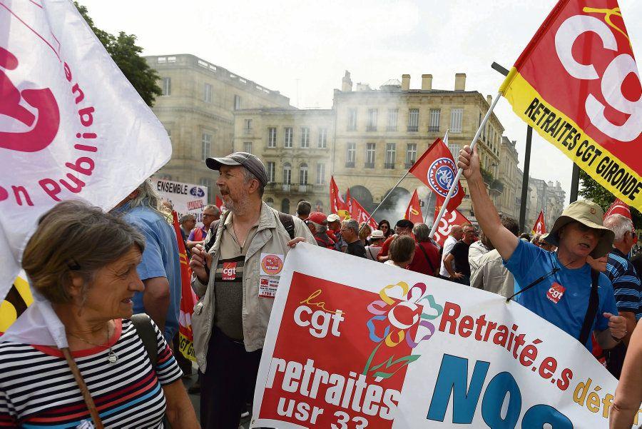 Macron : les retraités en ligne de mire dans l'action le 27 juin !