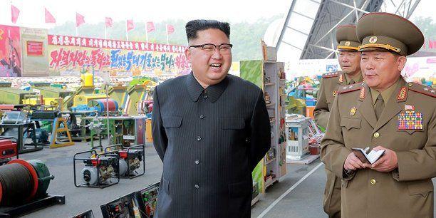 Le PIB de la Corée du Nord a crû de 3,9 % l'année dernière par rapport à 2015, quand l'économie avait été affectée par des sécheresses et une baisse du prix des matières premières. (Crédits : Reuters)