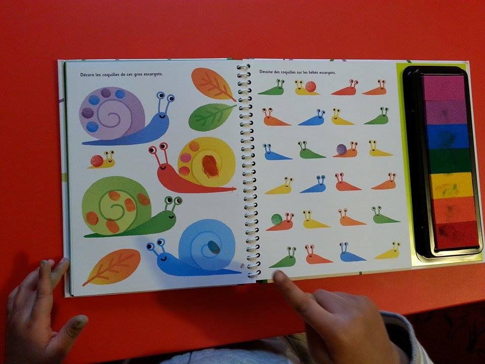 Dessine avec les doigts &quot&#x3B;les animaux&quot&#x3B; - Editions Usborne