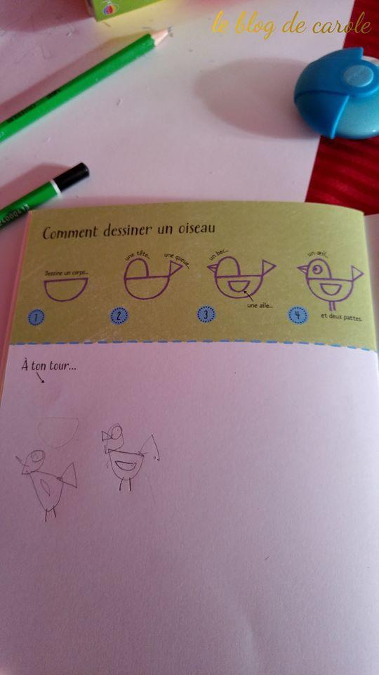 Ma valisette d'activités &quot&#x3B;je dessine pas à pas&quot&#x3B; - Editions Usborne