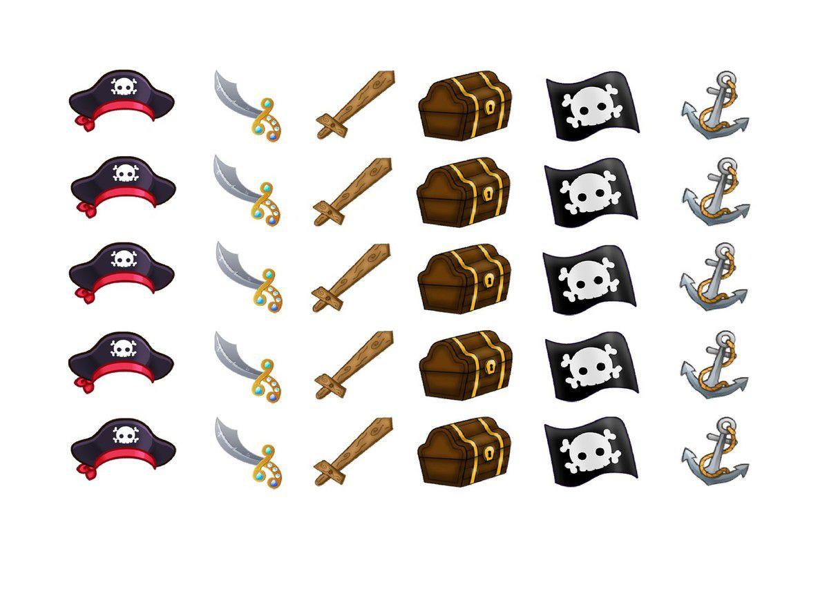 gommettes pirates