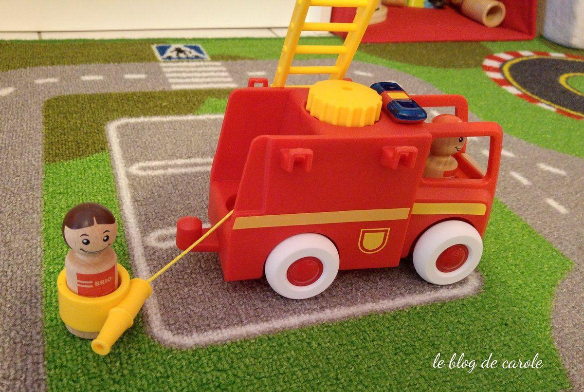 My home town Camion de pompier - Brio