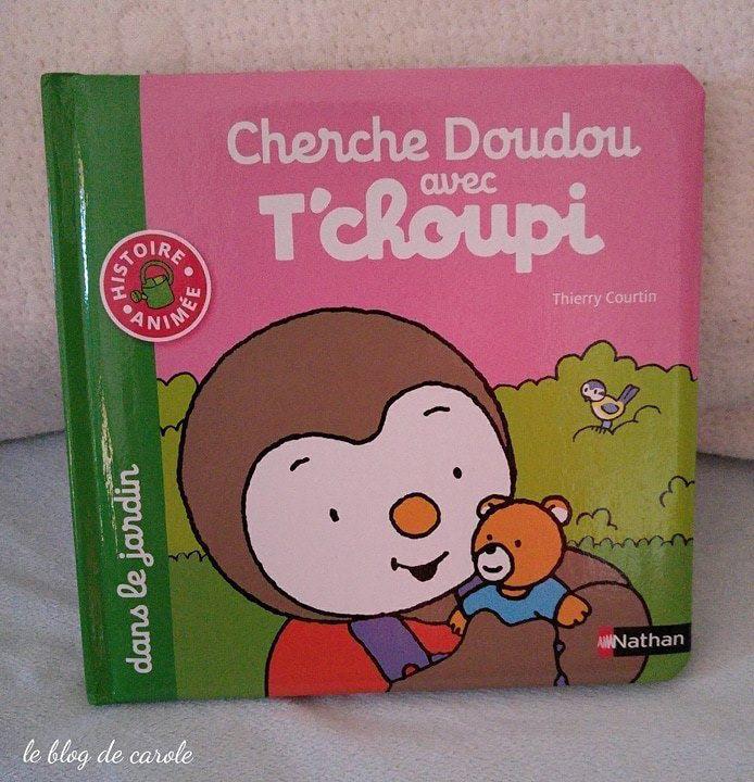 Cherche Doudou avec T'choupi dans le jardin - Editions Nathan