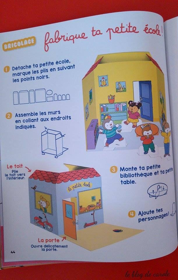 extraits T'choupi mon cahier de jeux L'école