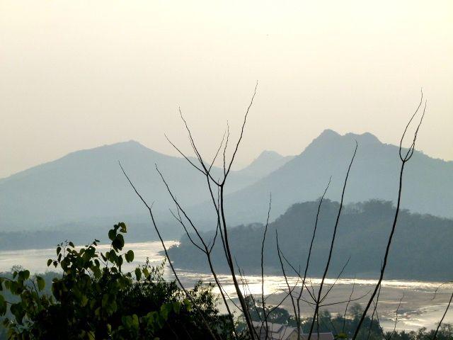 Luang Prabang - le mont Phoussi