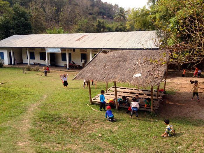 Luang Prabang - sur l'autre rive du Mékong