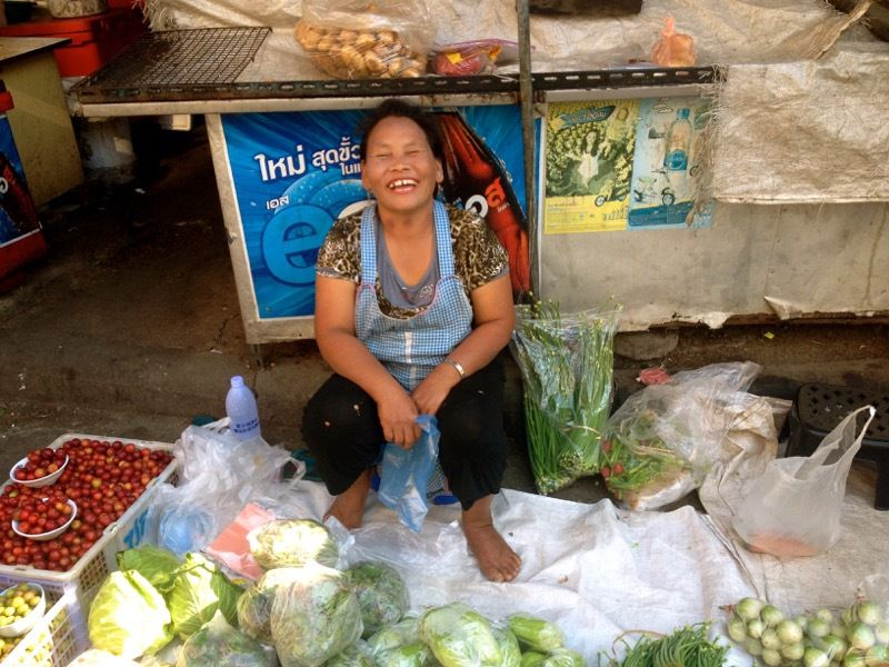 Chiang Mai - Warorot market... j'adooore