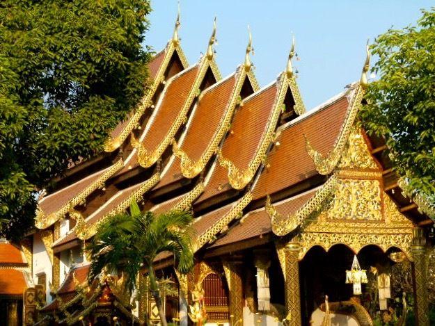 Chiang Maï - journée bouddhiste