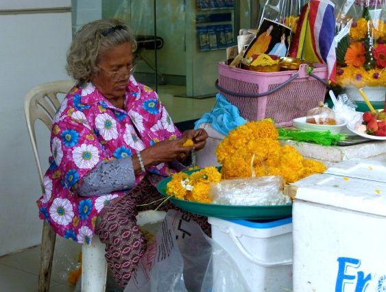 bangkok - Pak Khlong Market