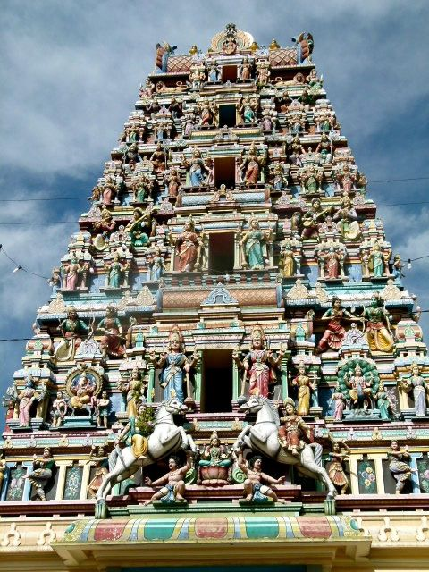 Kuala Lumpur - temple Sri Mahamariamman