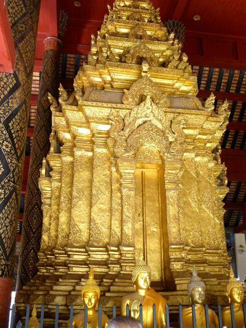 Lampang - temple Wat Phra That Lampang Luang
