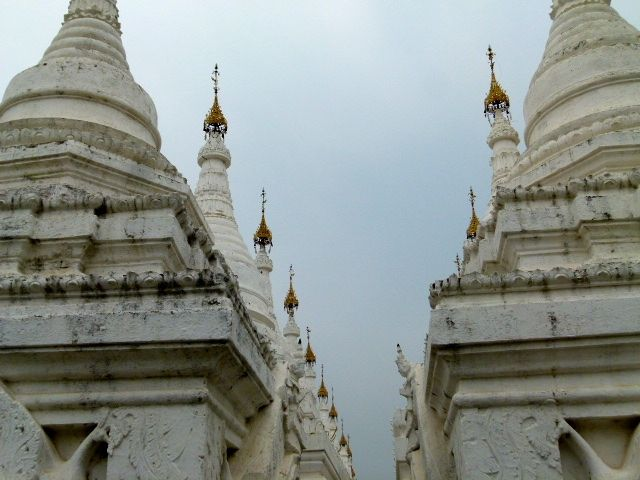 Mandalay Birmanie - la pagode Kuthodaw
