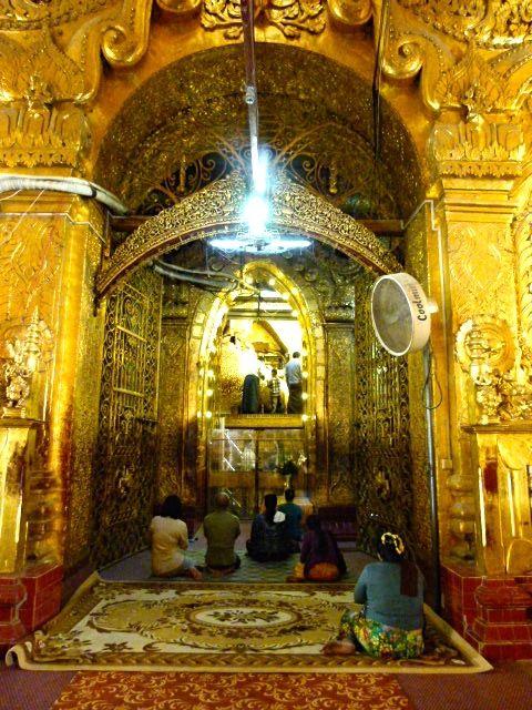 le temple Mahamuni