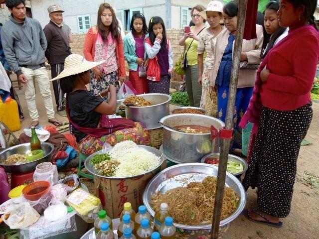 de Kalaw à Inle - Birmanie